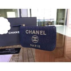 Chanel Deauville mini pouch